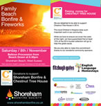 Shoreham Bonfire Society leaflet