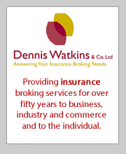 2016 sponsor Dennis Watkins, Insurance broker Shoreham by Sea