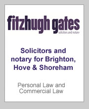 2016 sponsor Fitzhugh Gates, solicitors and notary for Brighton, Shoreham and Hove